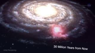 Massive Gas Cloud Will Collide With Milky Way, Eventually | Video