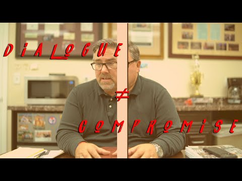 Dialogue ≠ Compromise - Vlog #7 with Greg Johnson