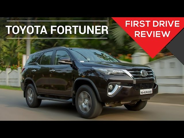 Toyota Fortuner Price Images Review Mileage Specs