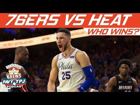 Who Wins Philadelphia 76ers vs Miami Heat | Hoops N Brews