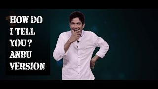 Anbu To Replace RJ Vignesh Kanth?! | How Do I Tell You? #6 | Smile Settai