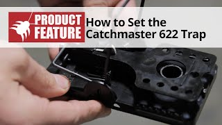 Catchmaster 622 Rat Trap - Setting the Trap