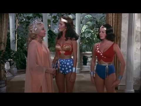 Wonder Woman and her Mom