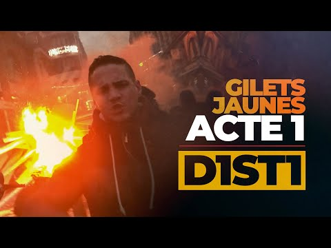 GILETS JAUNES CLIP OFFICIEL D1ST1