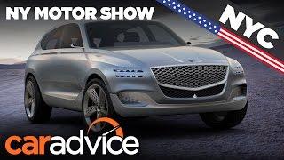 Hyundai Genesis GV80 Concept 2017 New York motor show