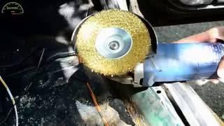Кузовной ремонт без сварки Дырявый пол и короба(, 2016-09-06T15:41:28.000Z)