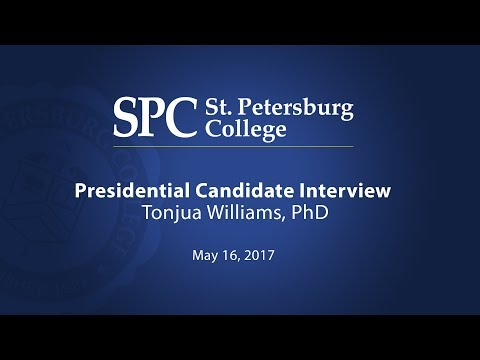 SPC Presidential Candidate Interview: Dr. Tonjua Williams