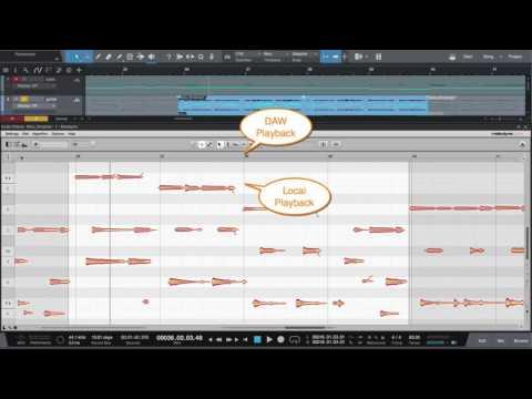 Melodyne 4.1: ARA in Studio One (english)