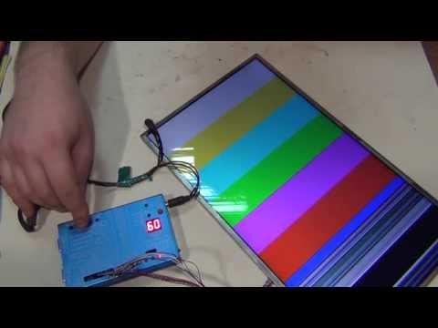 видео: Прибор для проверки lcd матриц.