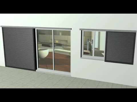 Animation Volet Coulissant Aluminium Youtube