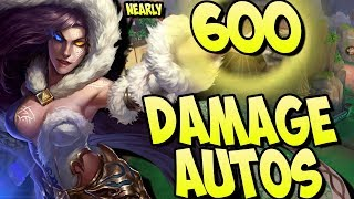 NEARLY 600 DAMAGE IN 1 AUTO! AUTOS STRONGER THAN ABILITIES! - Masters Ranked Duel - SMITE thumbnail