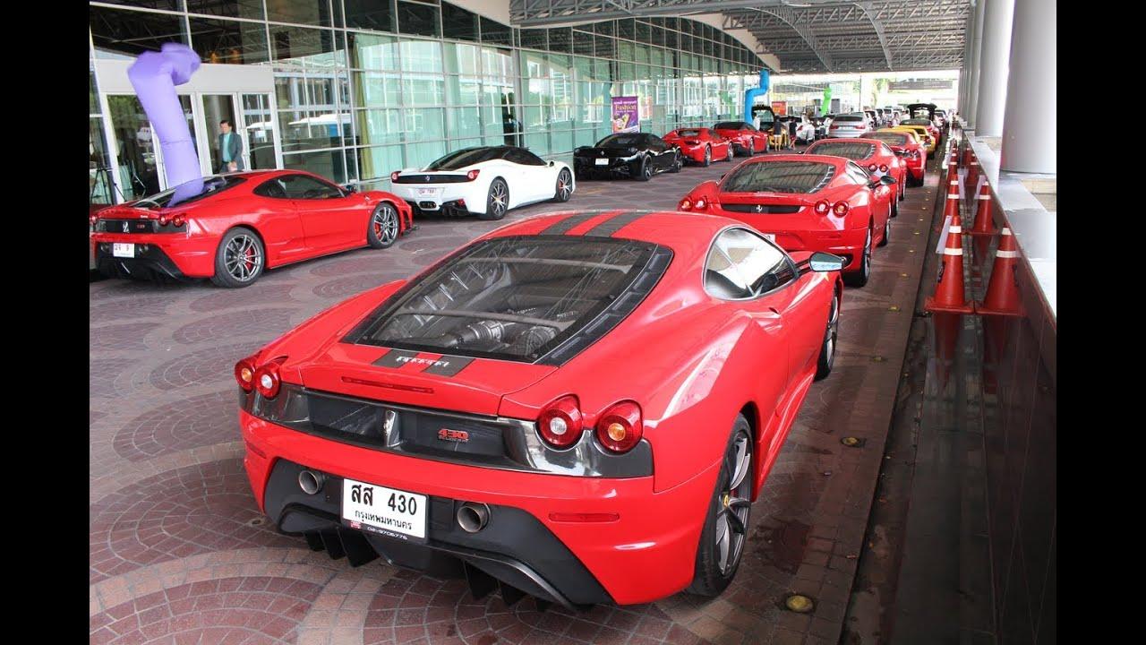 Ferrari Owner S Club Thailand 2014 Youtube