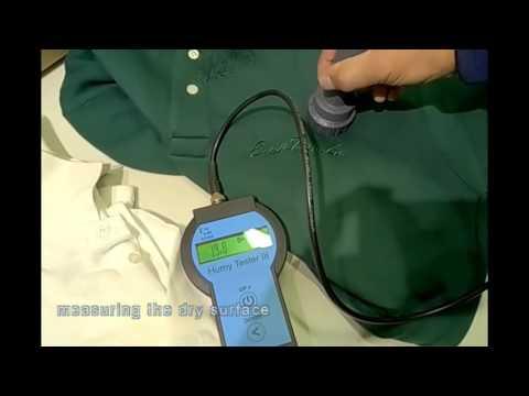 DHT-2 Textile Moisture Meter Unboxing