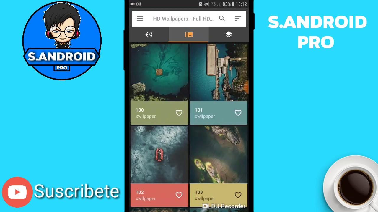 MEJORES APPS de Wallpapers Premiun Para Android Gratis 2018 !!!