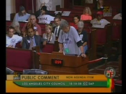 Mad As Hell @ Los Angeles City Council