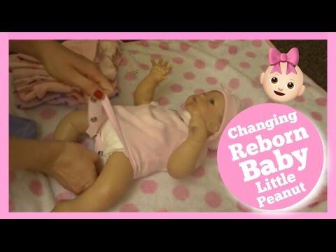 REBORN BABY FIRST OUTFIT CHANGE | LITTLE PEANUT | ASHTON DRAKE