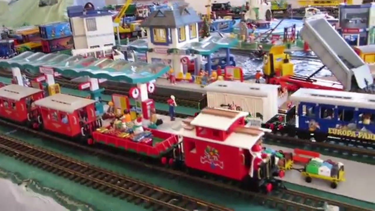 Expo no l train playmobil youtube - Train playmobil ...