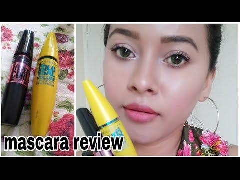 #maybelline mascara Maybelline mascara review & trick long lashes//ankish beauty