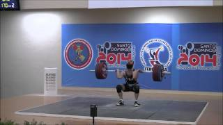 2014 Pan American Weightlifting Championships 77kg Class