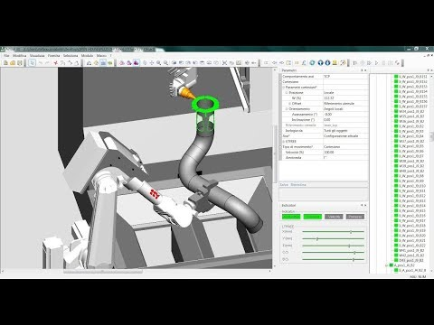 ArtCut - CAM 3D software for managing 5 axis laser cutting system | BLM GROUP