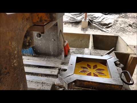Mosaico hidraulico pisos rusticos san antonio youtube for Pisos rusticos