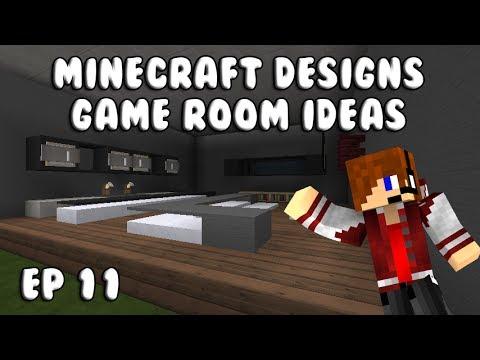 Minecraft Designs: Game Room Ideas Ep 11