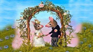 СИМУЛЯТОР Маленькой МЫШИ #2 Влюбился в мышку Свадьба Мышат Детская игра детский летсплей