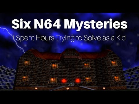 Six Nintendo 64 Mysteries I Spent Hours Trying to Solve as a Kid