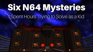 Six Nintendo 64 Mysteries I Spent Hours Trying to Solve as a Kid | SwankyBox