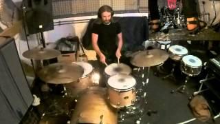 drum jam - Kaizers Orchestra - I ett med verden (Tama Silverstar kit)
