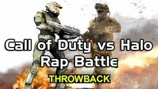Rap Battle |  Call of Duty vs Halo (With Lyrics) |  by BrySi (feat u4ix)