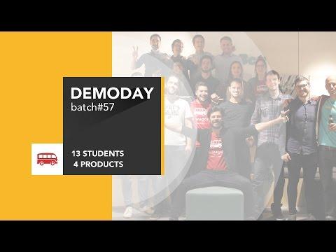 Coding Bootcamp Barcelona | Le Wagon - Batch #57 Demo Day