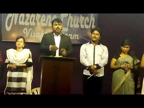 Punaruddanamu. By Rev M Joseph Prakash, Nazarene ministries, Vizag.