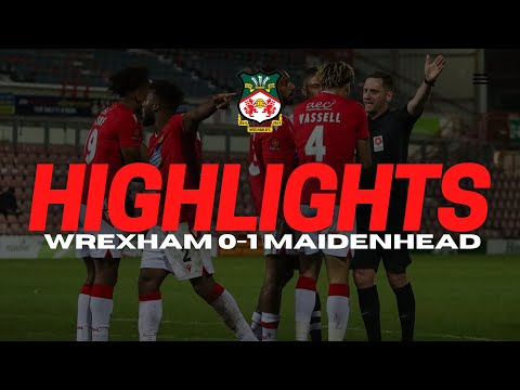 Wrexham Maidenhead Goals And Highlights