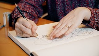 lettering artistry with jessica hische