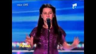 Teodora Sava -Listen ( Beyonce )- Next Star finala sez.1.2013