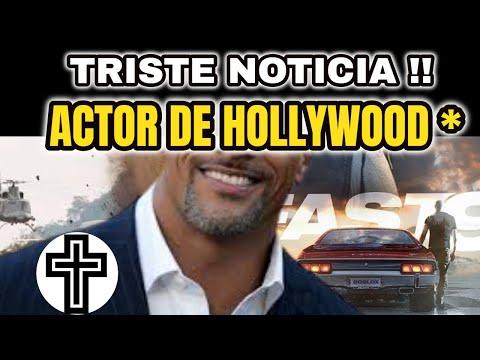 🌹HACE UNAS HORAS ! TRISTE NOTICIA PARA FAMOSO ACTOR DE HOLLYWOOD, PIDEN QUE REZEN, NOTICIAS 2020 !