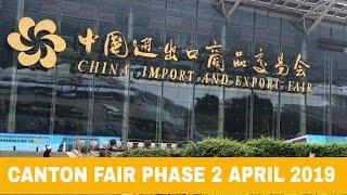 Gambar cover Canton fair phase 2 April 2019