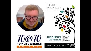 10@10 - The purpose driven life - Day 30 - Jordan Brown