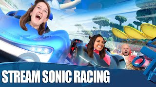 Rolling Around In Team Sonic Racing