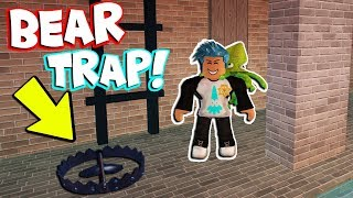 NEW BEAR TRAP ADDED TO JAILBREAK?! (Roblox)