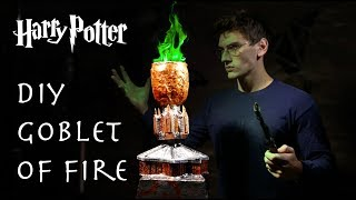 DIY $20 Goblet Of Fire! - Real Color Changing Red/Green Flames!!!
