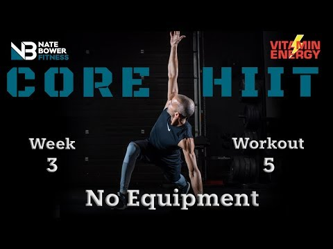 Core HIIT WORKOUT No Equipment 4 WEEK SHRED