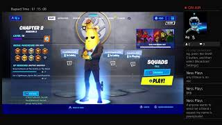 1st Fornite gameplay on my PS4 :)