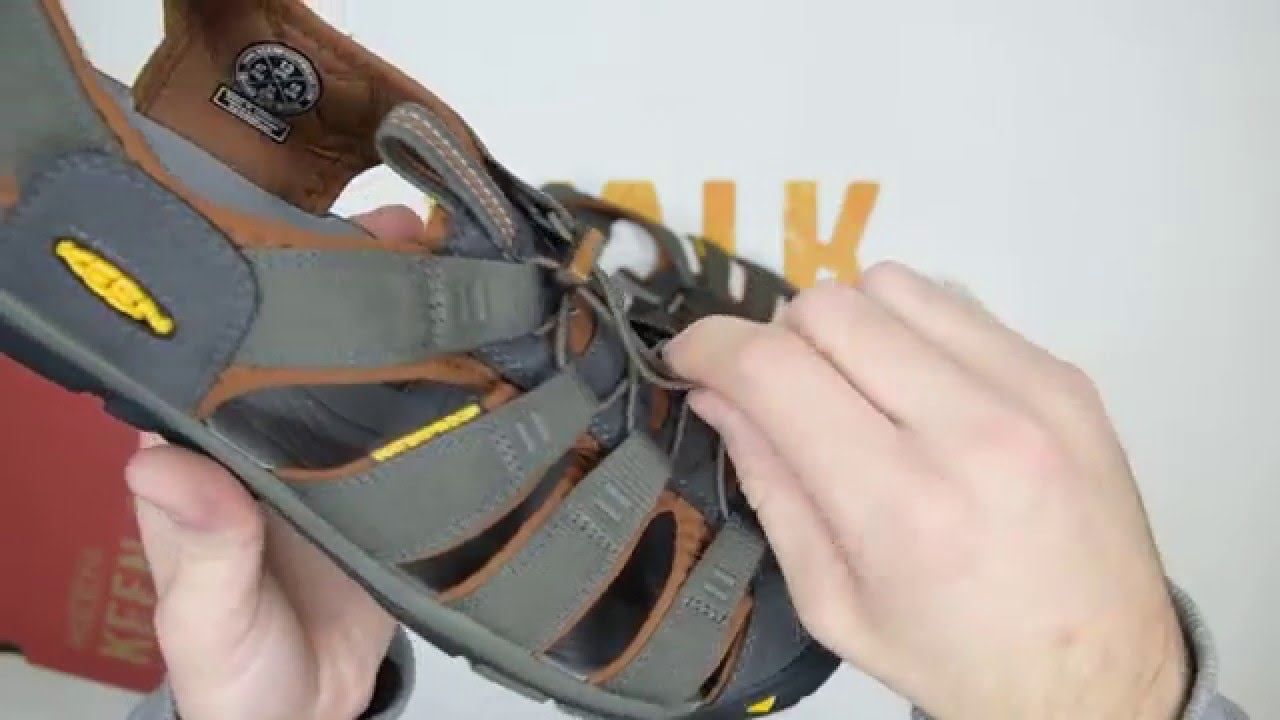 e3412ab2 Keen Clearwater CNX - Raven / Tortoise Shell - Walktall | Unboxing | Hands  on