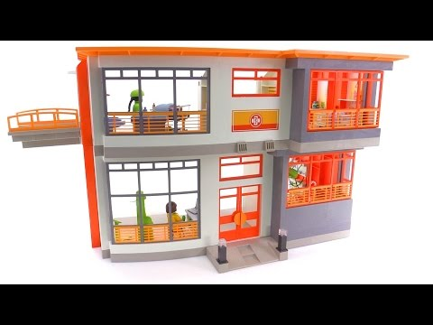 Playmobil Childrens Hospital Review Set 6657 Youtube