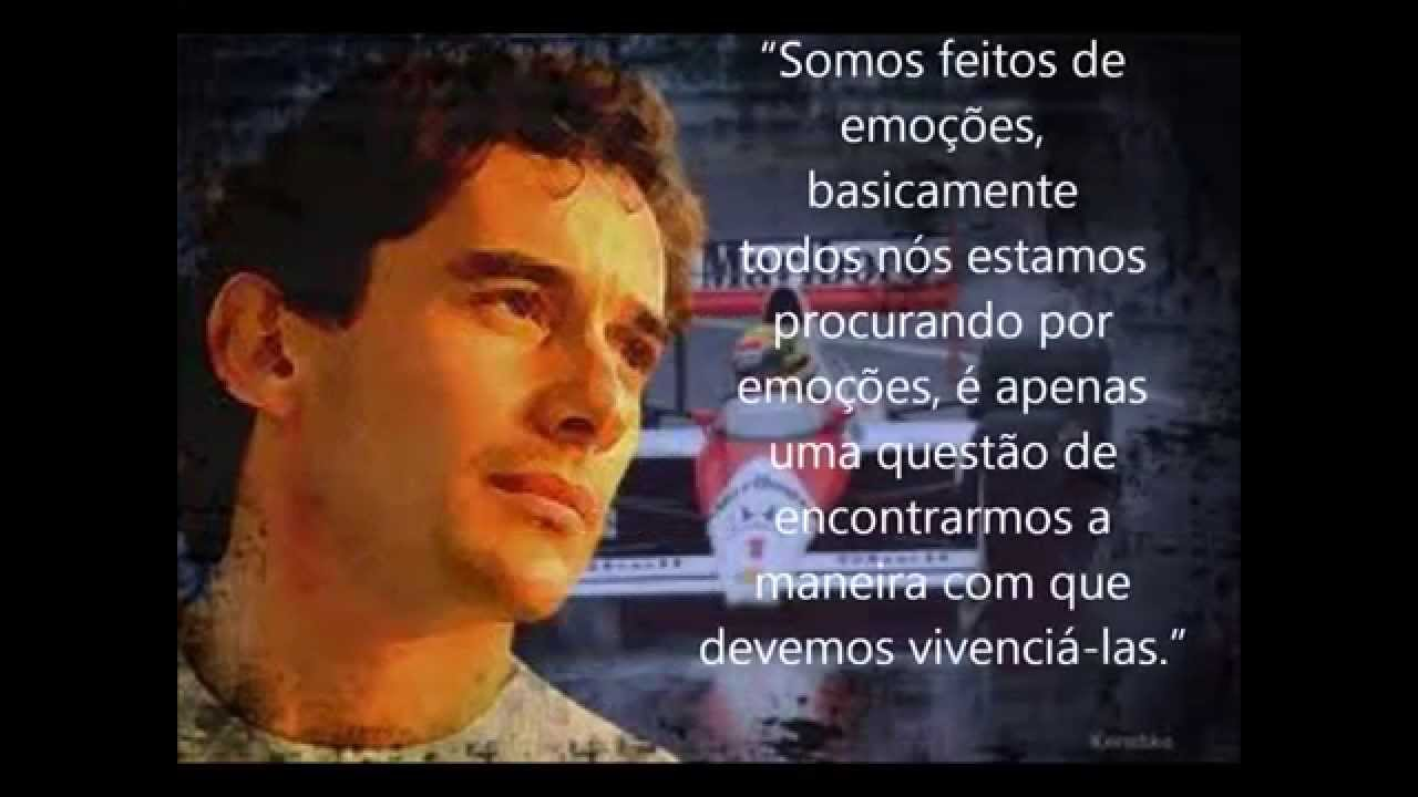 Frases De Sucesso: Ayrton Senna Frases Célebres
