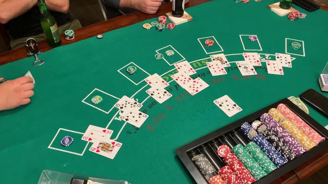 $20 buy-in $140 prize  $5 min-$1,000 max bet Blackjack with friend's and family Feb 29th 2020 Game 4