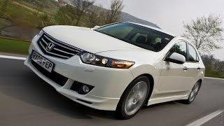 Honda Accord 8 — Тест драйв  Для настоящих мужчин!