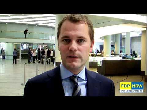 Daniel Bahr zu einem Jahr rot-grüner Landesregierung in NRW